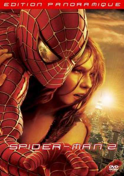 French DVDs - Spiderman 2