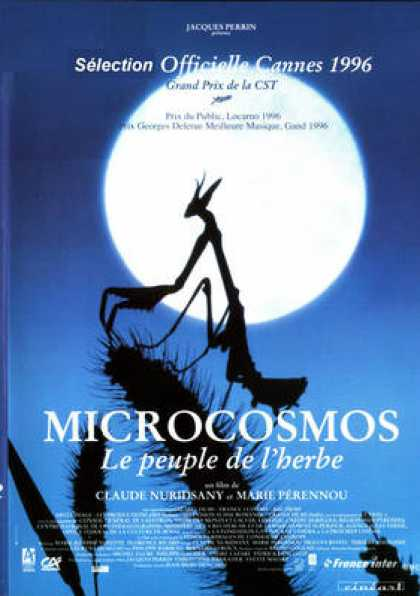 French DVDs - Microcosmos