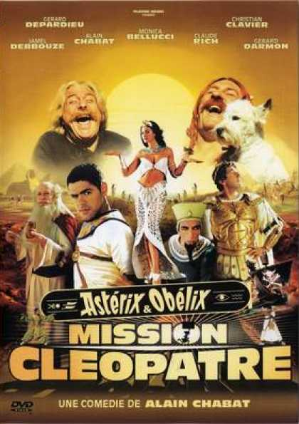 French DVDs - Asterix - Et Obelix Mission Cleopatre