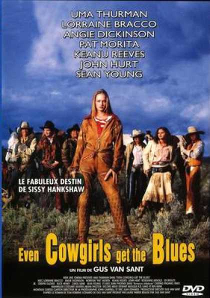 French DVDs - Even Cowgirls Get The Blues