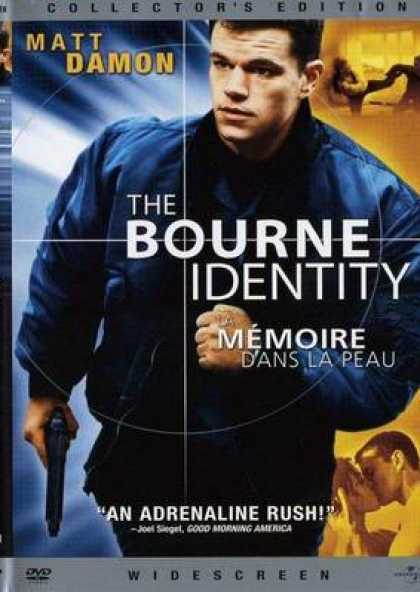 French DVDs - The Bourne Identity French Canadian