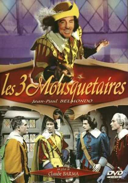 French DVDs - Les 3 Mousquetaires
