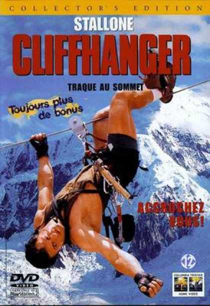 French DVDs - Cliffhanger