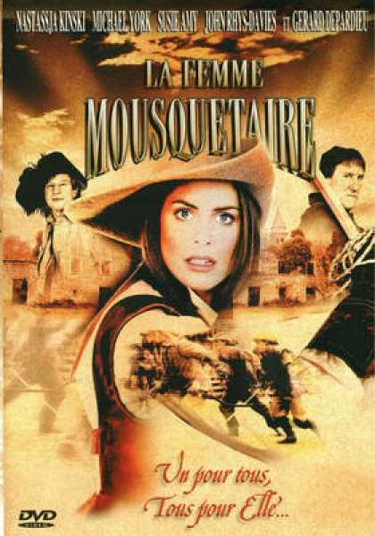 French DVDs - La Femme Musketeer