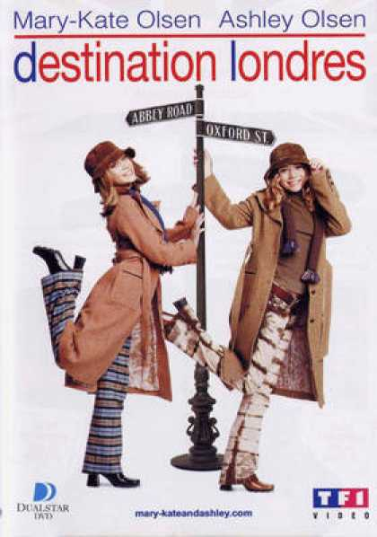 French DVDs - Destination Londres