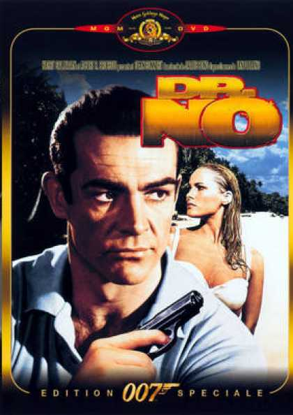 French DVDs - 007 Docteur No