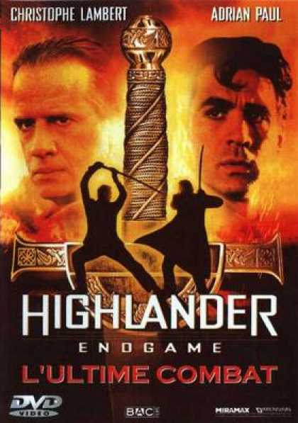 French DVDs - Highlander End Game