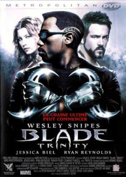 French DVDs - Blade Trinity