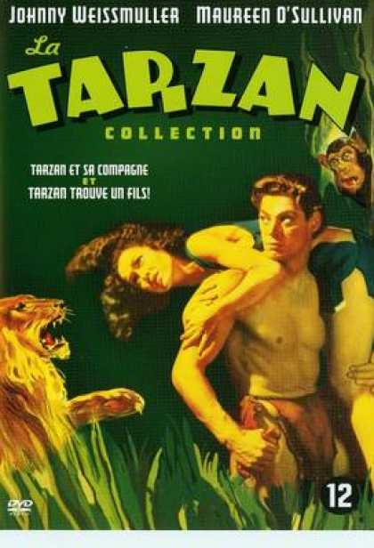 French DVDs - Tarzan And His Mate