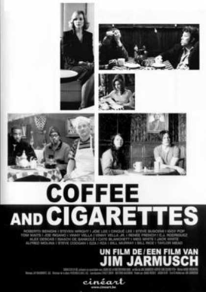 French DVDs - Coffee And Cigarettes