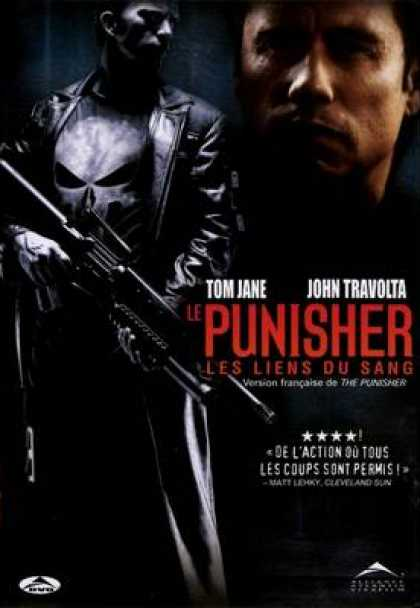 French DVDs - The Punisher French Canadian