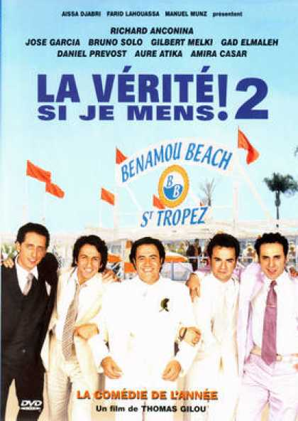 French DVDs - La Verite Si Je Mems 2