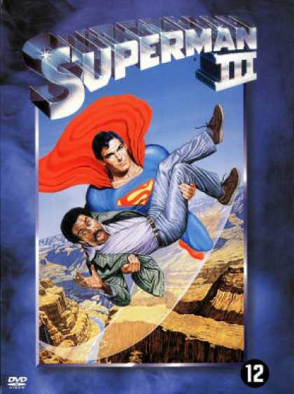 French DVDs - Superman 3