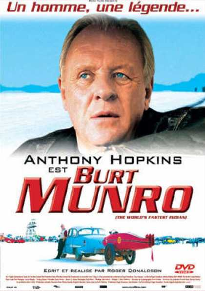 French DVDs - Burt Munro