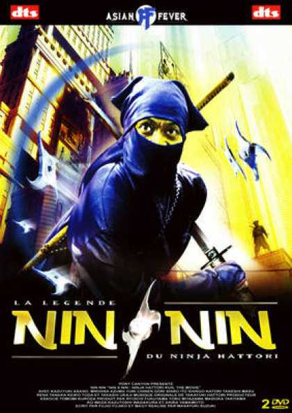 French DVDs - Nin Nin - La Legende Du Ninja Hattori