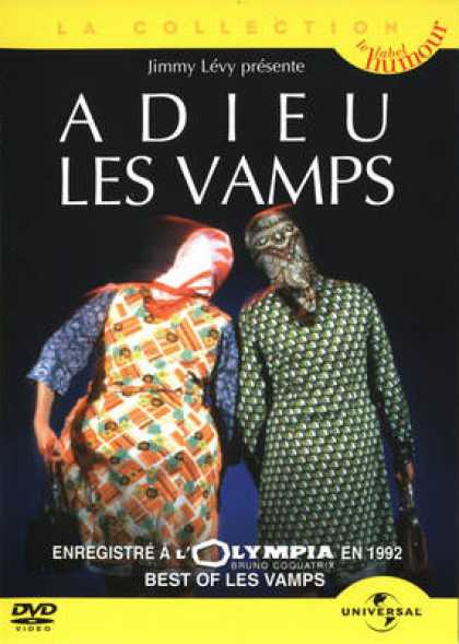 French DVDs - Adieu Les Vamps