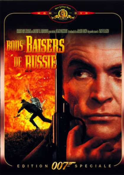 French DVDs - 007 James Bond - From Russia With Love