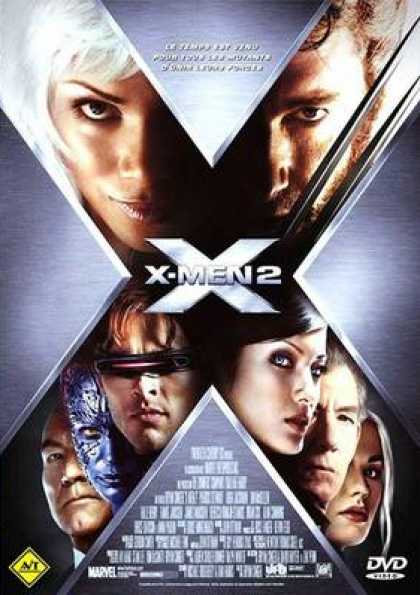 French DVDs - X-Men 2