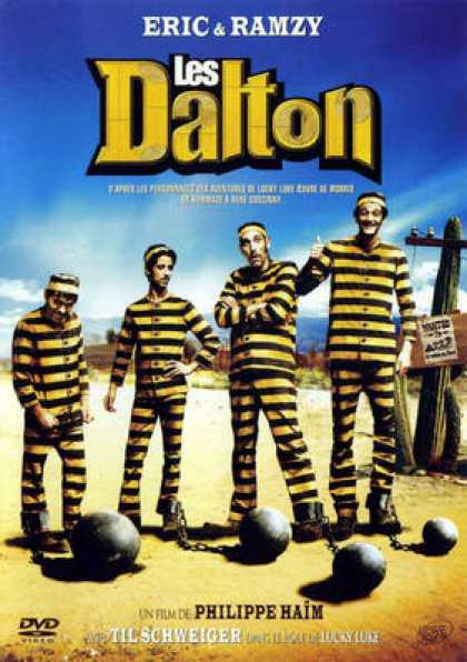 French DVDs - Les Dalton