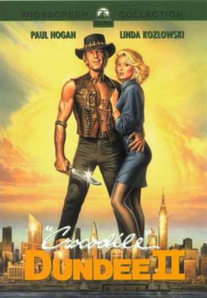 French DVDs - Crocodile Dundee 2