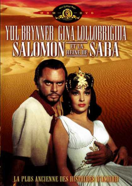 French DVDs - Salomon Et La Reine De Saba