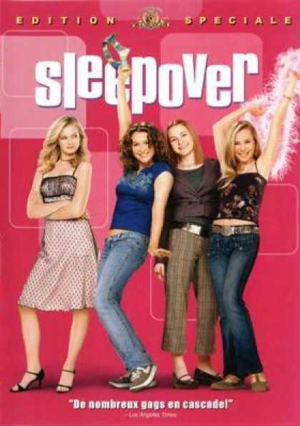 French DVDs - Sleepover