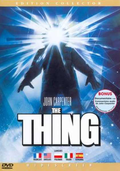 French DVDs - The Thing