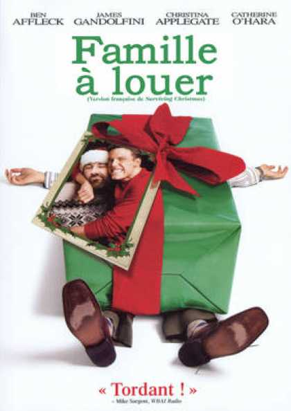 French DVDs - Surviving Christmas