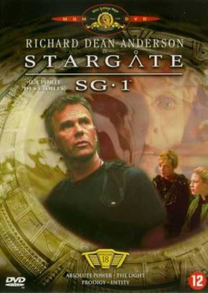 French DVDs - Stargate Sg 1 Vol 18