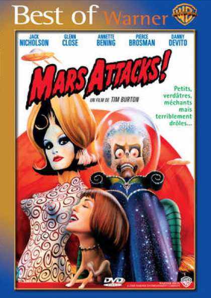 French DVDs - Mars Attacks