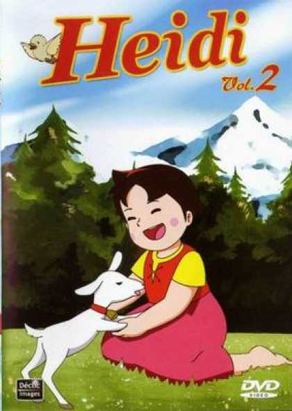 French DVDs - Heidi Vol.2