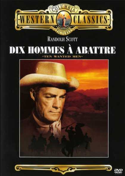 French DVDs - Dix Hommes A Abattre