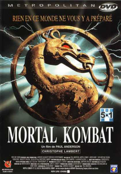 French DVDs - Mortal Kombat