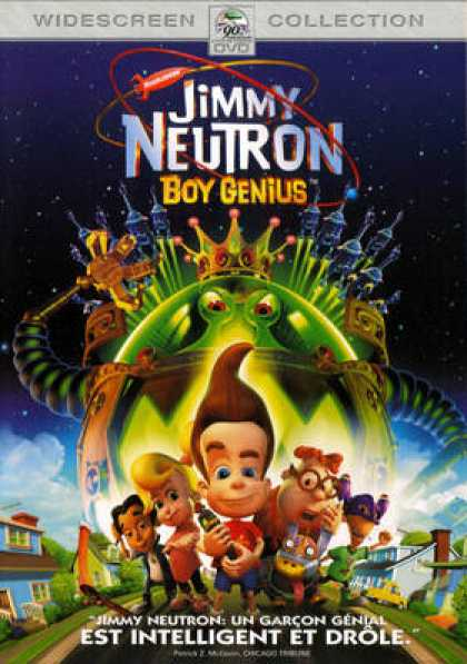 French DVDs - Jimmy Neutron