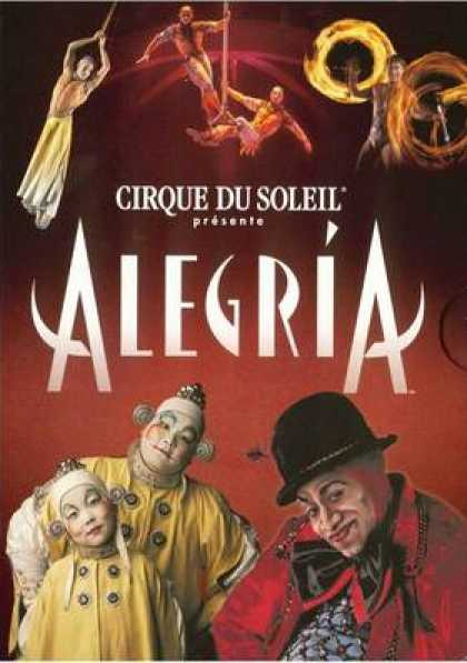 French DVDs - Alegria