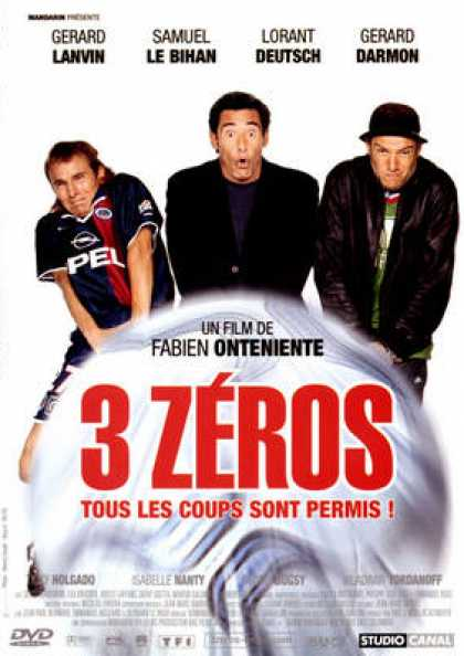 French DVDs - 3 Zeros
