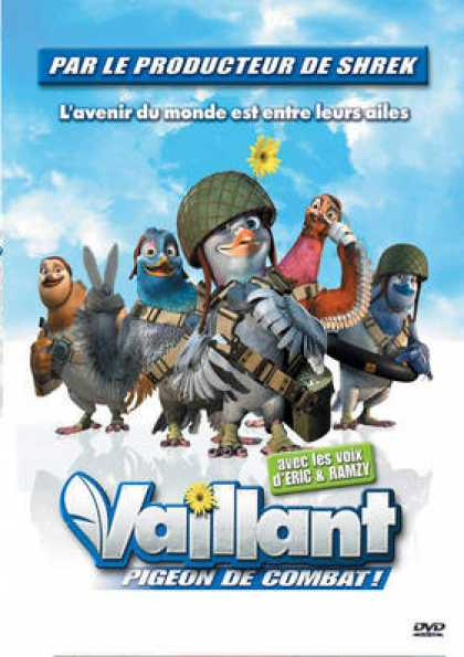 French DVDs - Valiant