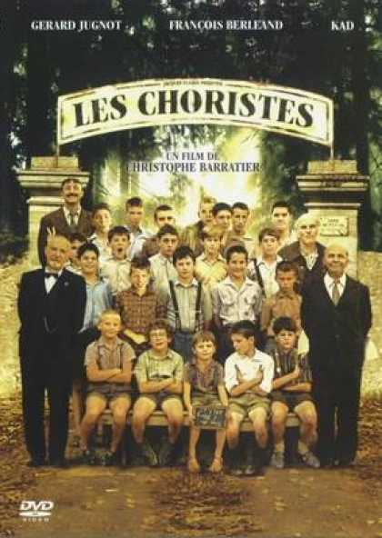French DVDs - The Choir Members