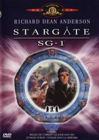 French DVDs - Stargate Sg 1 Vol 10