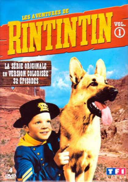 French DVDs - Les Aventures De Rintintin Vol 1