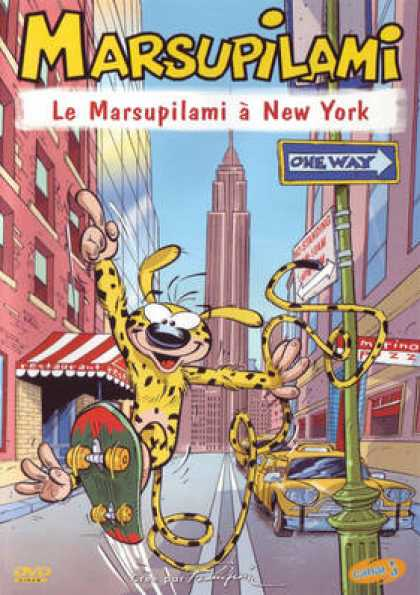 French DVDs - Marsupilami - Le Marsupilami A New York