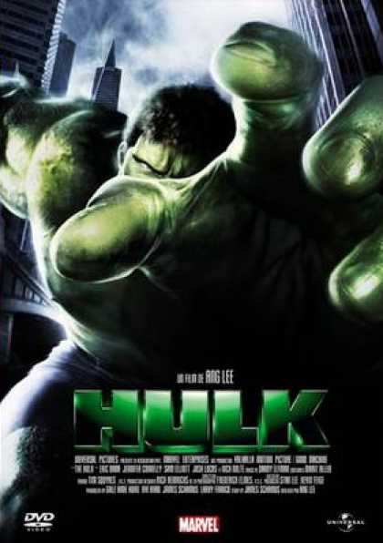 French DVDs - Hulk
