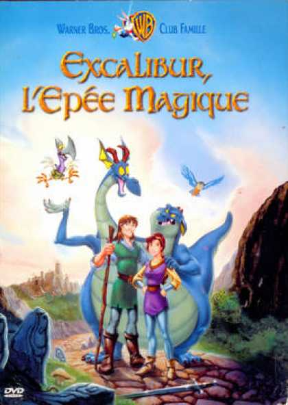 French DVDs - Excalibur L épée Magique