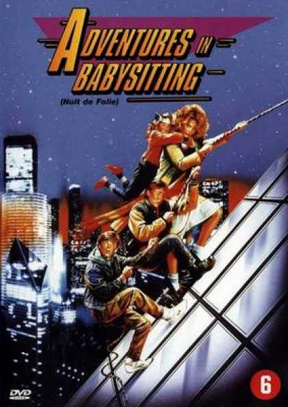 French DVDs - Adventures In Babysitting