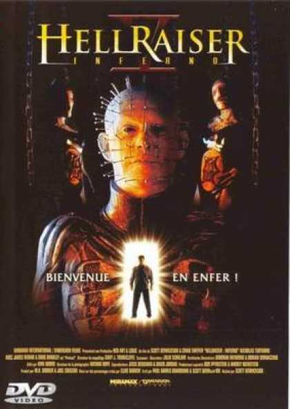 French DVDs - Hellraiser: Inferno