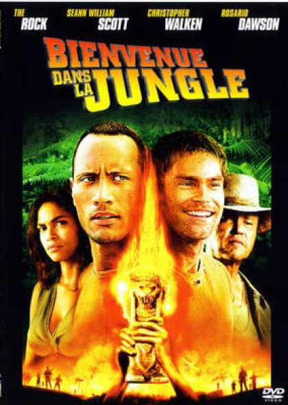 French DVDs - Welcome To The Jungle