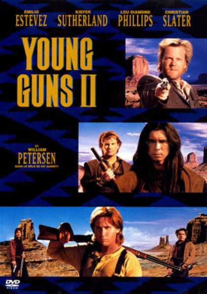French DVDs - Young Guns II