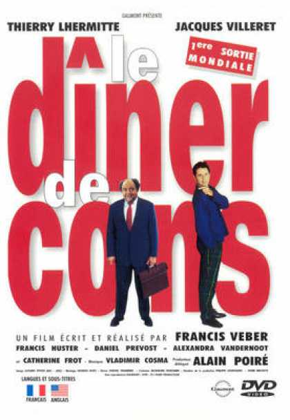 French DVDs - The Dinner Game French Canadian