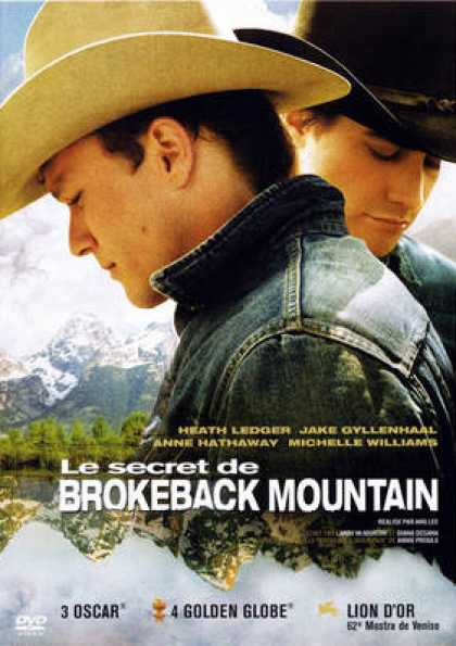 French DVDs - Brokeback Mountain