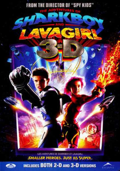 French DVDs - Sharkboy And Lavagirl